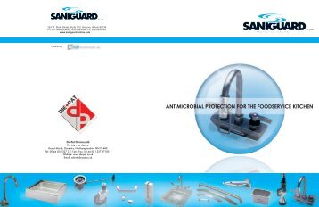 SaniGuard Coated and Impregnated Products - CESA