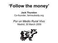 'Follow the money' Jack Thurston - WWF