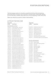 POSITION DESCRIPTIONS - iMercer.com