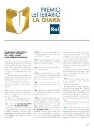 Regolamento - Rai.it