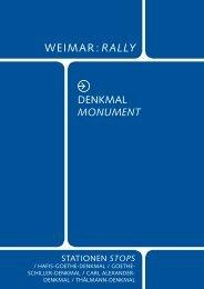 MonuMent - Klassik Stiftung Weimar