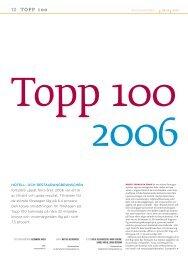 Topp 100 för år 2006 - Visita