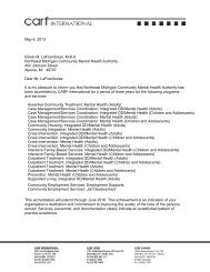 Accreditation Letter - NEMCMH.org