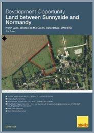 Development Opportunity Land between Sunnyside and ... - Savills