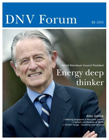 Energy deep thinker - DNV