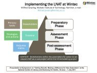 Willfred Greyling Implementing_LNAT_Wintec.pdf - National Centre ...