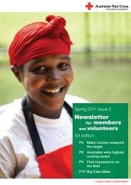 Newsletter - Australian Red Cross