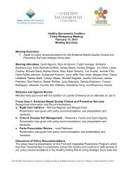 Feb. 13, 2013, Policy Workgroup Meeting Summary (PDF)