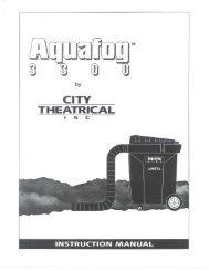 Aqua Fog 3300