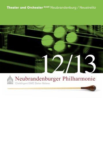 Neubrandenburger Philharmonie - Theater und Orchester