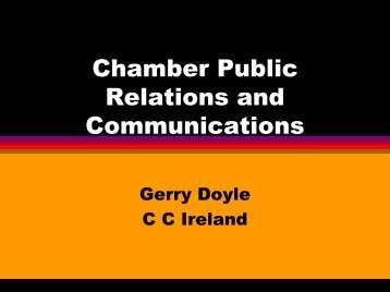 Chamber Public Relations and Communications - Eurochambres ...