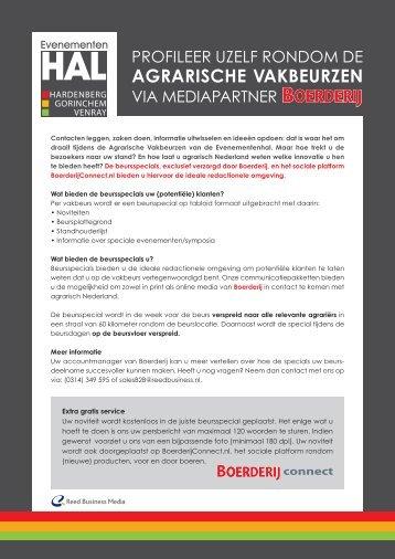 agrarische vakbeurzen - Adverteren bij Reed Business.nl