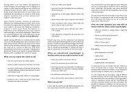 dyslexia leaflet - Home Page