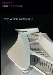 Revit Architecture Overview Brochure