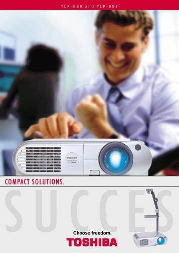 COMPACT SOLUTIONS. - Toshiba