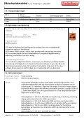 Sikkerhedsdatablad iht. EU forordning nr. 1907/2006 ... - Frederiksen - Page 4