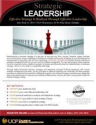 Strategic - UCF Executive Development Center