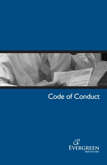 Code of Conduct - Evergreen Hospital