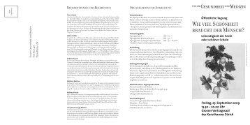 PDF Version - Forum Gesundheit und Medizin