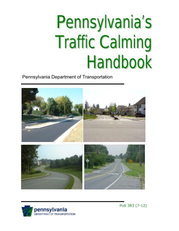 Pennsylvania's Traffic Calming Handbook