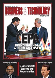 BRINGING INDIA & KOREA CLOSER - Asia-Pacific Business and ...
