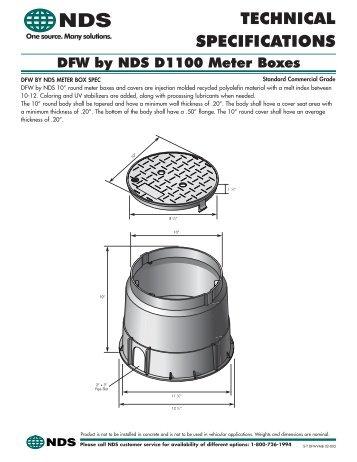 D1100 Meter Boxes