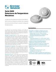 Detectores de temperatura Serie5600 System Sensor