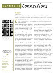 Winter 05 Connections_web.pdf - The Minnesota Project