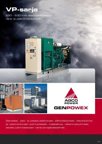 VP-sarja - AGCO Power