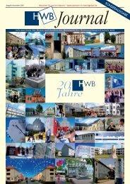 HWB-Journal | Ausgabe Dezember 2010 - h e n n i g s d o r f . d e