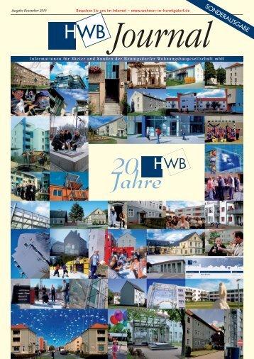 HWB-Journal   Ausgabe Dezember 2010 - h e n n i g s d o r f . d e