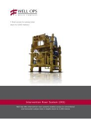 Intervention Riser System (IRS)