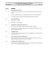 Section #16797 - Door Hardware Wiring