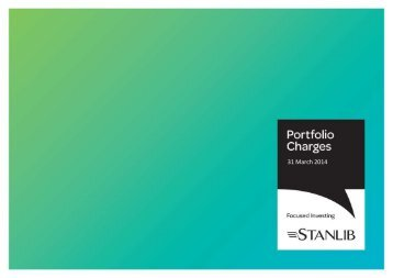 Portfolio Charges Template - Stanlib