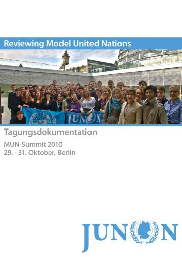 Reviewing Model United Nations Tagungsdokumentation