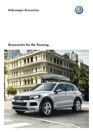 Accessories for the Touareg. - Volkswagen
