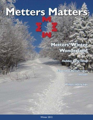 Metters' Winter Wonderland - Cassandra Shaw