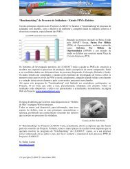 """""""Benchmarking"""" do Processo de Soldadura – Estudo PPM e ... - EWF"""