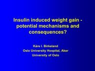 Insulin Induced Weight Gain - engage