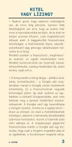 A lízing (2007. október) - Pénzügyi Szervezetek Állami Felügyelete - Page 3