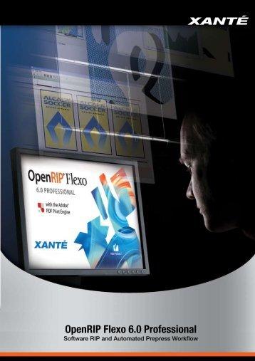 OpenRIP Flexo 6.0 Professional - Xante.com