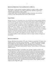 Boloņas process un kvalifikāciju atzīšana - Akadēmiskās ...