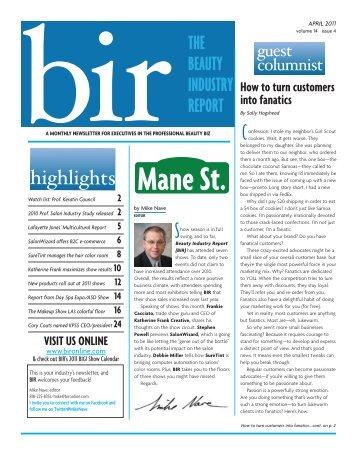 BIR April 2011 - Inspiring Champions