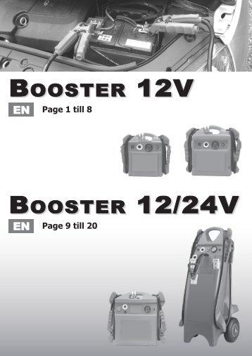 BOOSTER 12/24V BOOSTER 12V