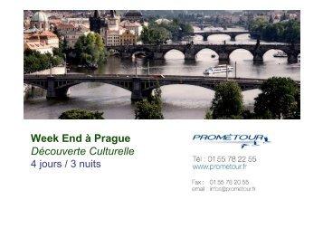 Escapade Pragoise - Prometour