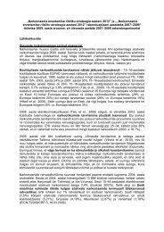 """""""Narkomaania ennetamise riikliku strateegia aastani 2012"""" ja ..."""