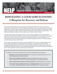 REBUILDING A GOOD JOBS ECONOMY: A Blueprint for Recovery ...