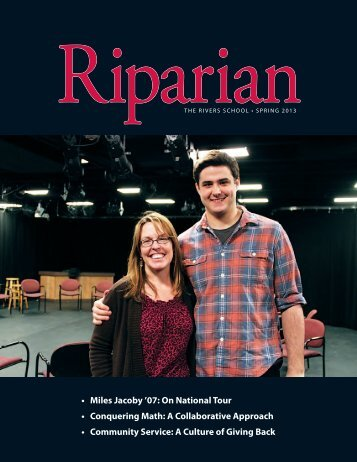 The Riparian - Spring 2013 - The Rivers School