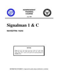 Signalman 1 & C - Historic Naval Ships Association
