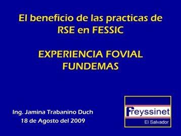 Experiencia de FESSIC en RSE